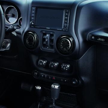 Jeep Wrangler JK Instrumentenadapter